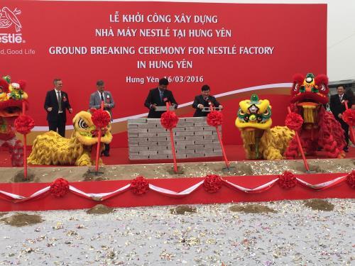 Nhà máy Nestlé tại Hưng Yên
