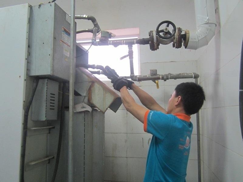 Hệ thống nhà giặt cho Nhà máy sữa THMilk tại Hưng Yên và Nghệ An