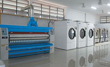 Hệ thống giặt là công nghiệp F5 Laundry đã triển khai