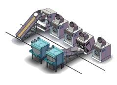 Hệ thống giặt tích hợp QH-Roulong