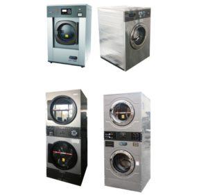 Máy giặt vắt vận hành bằng tiền xu QH-Roulong