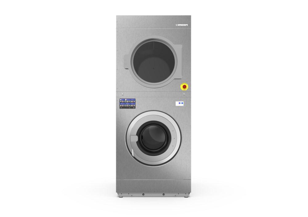 Máy giặt, sấy công nghiệp 2x18kg Imesa TMD